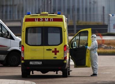 По данни на Росстат коронавирусът е довел до смъртта на 28 680 души през януари, но тези цифри не обясняват изцяло естествения негативен прираст. СНИМКА: Ройтерс