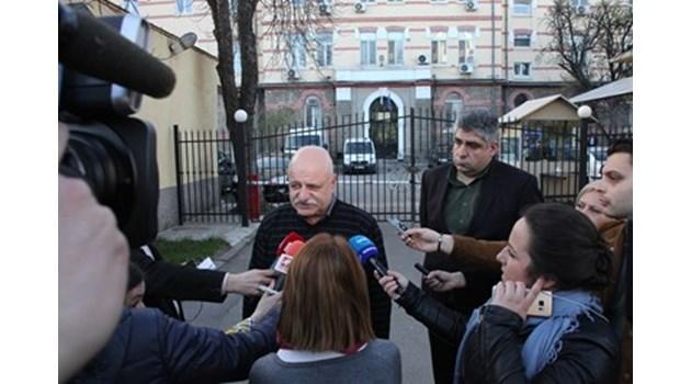 Чистачка гонила избягалите затворници в София