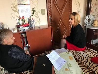 Снежи Кежева и Мая Манолова СНИМКИ: Пресцентърът на омбудсмана
