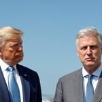 Доналд Тръмп и  Робърт О'Брайън Снимка: Ройтерс