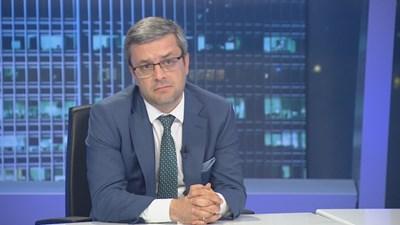 Депутатът от ГЕРБ Тома Биков. Кадър БНТ