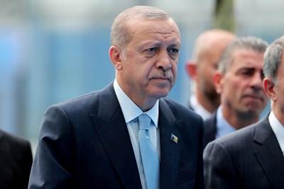 Турският президент Реджеп Тайип Ердоган СНИМКА: Ройтерс