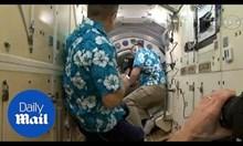 Астронавти поправят изтичането на въздух на Международната космическа станция