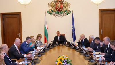Бойко Борисов в Министерския съвет СНИМКИ: Йордан Симеонов