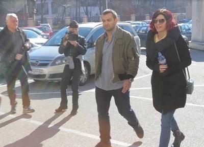 Антон Божков и съпругата му Ива Софиянска СНИМКА: Румяна Тонева