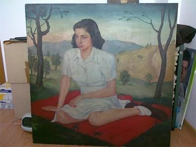 """""""Жената в бяло"""" на Владимир Рилски е оценена на 12 000 лв."""