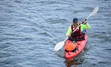 Като герой на Жул Верн полицай преплава с каяк Дунав за 37 дни