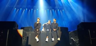 """Едни от най-красивите  гласове - IL Volo, пяха  в """"Арена Армеец""""  IL Volo направиха изключително вълнуващ концерт в София.  СНИМКА: ЕВЕЛИН ЗАФИРОВА"""