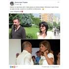 Постът на Десислава Радева, който тя илюстрира с две снимки - на Цвета Караянчева със съпруга и? и своя, на която се гледат влюбено с президента.