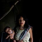 Етническата група яномами в Алто Алегре, Бразилия.