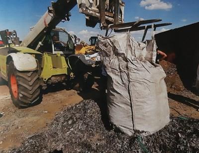 Боклукът край Червен бряг Снимки: Прокуратурата