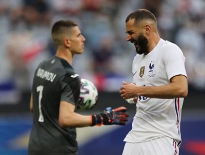 Българският вратар впечатли Франция и Германия