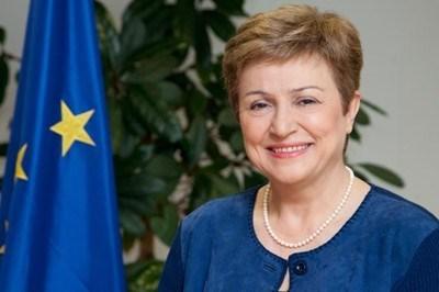 Кристалина Георгиева, главен изпълнителен директор на Световната банка, бивш зам.-председател на ЕК и комисар за бюджет и човешки ресурси