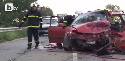Мъж е загинал при тежката катастрофа край Дъбово
