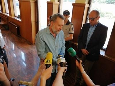 Николай Банев в съда СНИМКА: Стоян Нешев/Архив