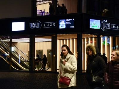 Германци отидоха на кино, след като много от културните събития в страната бяха отменени. Снимка: Ройтерс