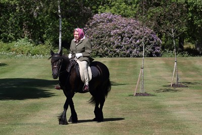 Кралица Елизабет Втора СНИМКИ: Ройтерс
