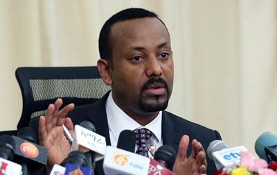 Етиопският лидер Абий Ахмед СНИМКА: Ройтерс