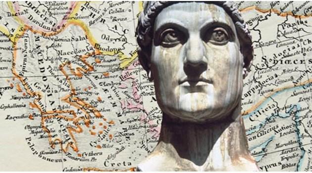 Нестинарският покровител Костадинчо е  император Константин Велики
