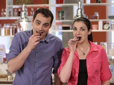 Стоян и Лора приготвиха вкусни неща за официалното си представяне вчера. СНИМКА: НОВА ТВ