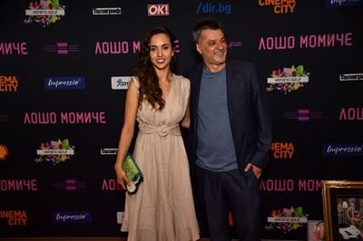 """Любомира Башева и Мариан Вълев на премиерата на филма """"Лошо момиче"""""""