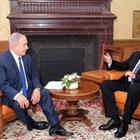 Бенямин Нетаняху и Бойко Борисов на срещата им в Евксиновград миналата година  Снимка: Министерски съвет