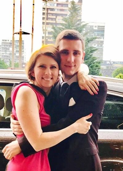 Кристиан с майка си Десислава
