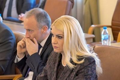 Правосъдният министър Дасислава Ахладова