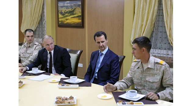 Какви са интересите на основните играчи в Сирия