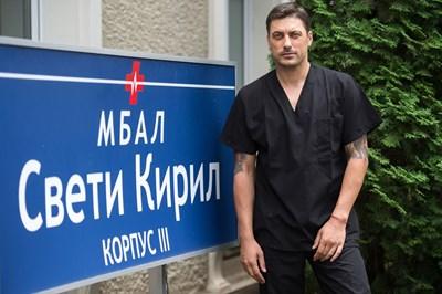 (24часа)  Героят на Карамазов ще е Христо Карагьозов.  СНИМКА: НОВА ТВ