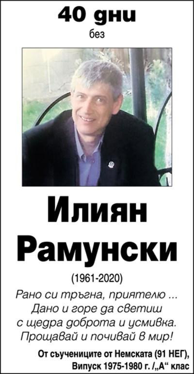 Илиян Рамунски
