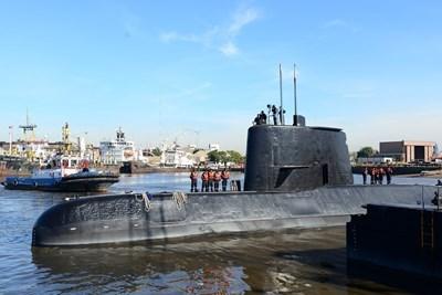 "Подводницата ""Сан Хуан"" Снимка: Ройтерс"