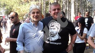Министрите Каракачанов и Нено Димов. СНИМКА: 24 часа