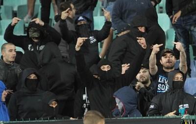 УЕФА с четири обвинения срещу България, две - срещу Англия