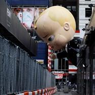 94-ият парад за Деня на благодарността се състоя в Манхатън, Ню Йорк, без зрители