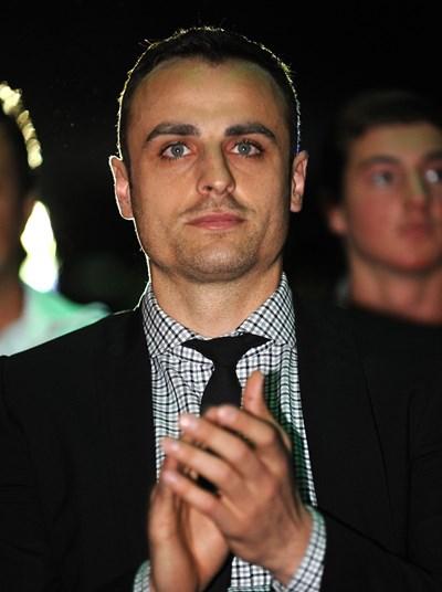 """Димитър Бербатов обяви, че с гордост би аплодирал истинските достойни българи, вършещи геройства. СНИМКА: """"24 ЧАСА"""""""