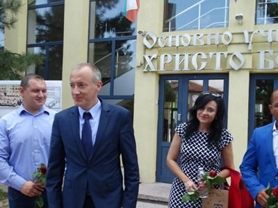 Министър Красимир Вълчев в Раковски