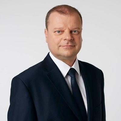 Министър-председателят на Литва Саулюс Сквернелис СНИМКА: Личен профил в Туитър
