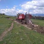 Изкопаха двоен дълбок ров около сибирско село, за да го изолират заради коронавирус. СНИМКА: https://ulan.mk.ru