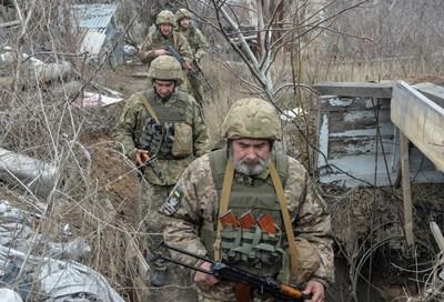 Украински войници СНИМКА: РОЙТЕРС