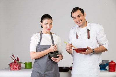 "Лора и Стоян от ""Бон Апети"""