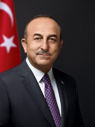 Мевлют Чавушоглу, министър на външните работи на Турция