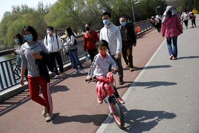 Континентален Китай съобщава за 39 нови случая на коронавирус през вчерашния ден СНИМКА: Ройтерс
