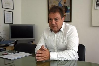 Шефът на Българския лекарски съюз д-р Иван Маджаров СНИМКА: Архив