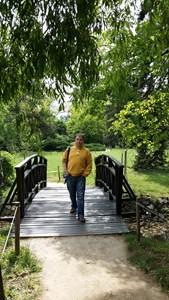 В парка Врана няколко дни преди Гергьовден - това е последната снимка на Ники.