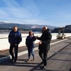 """Преди това министър Димитров посети и язовир """"Студена"""". Снимка МОСВ"""