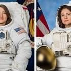 Джесика Миър и Кристина Кук Снимка: НАСА