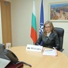 Екатерина Захариева участва във видеоконферентна връзка на НАТО. Снимка външно министерство