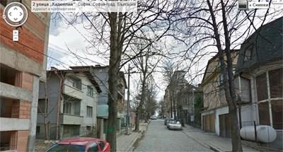"Столичния кв. ""Редута"" Снимка: Google Street View"