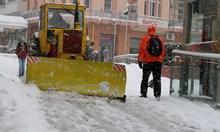 Топят по-бързо снега с нов метод в Пловдив